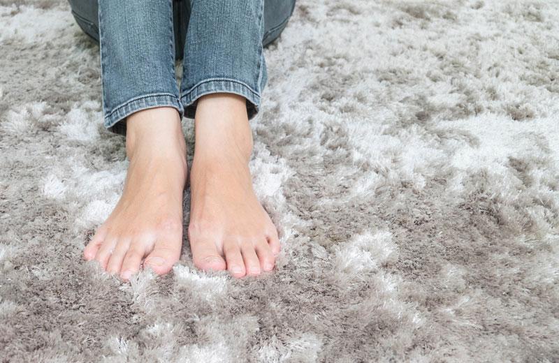 Plush Carpet Feet