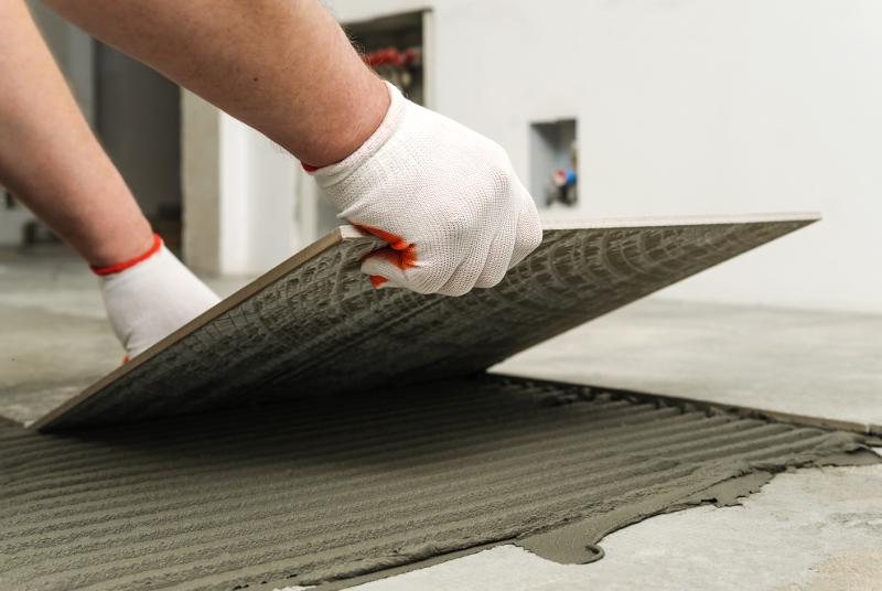 Tile-flooring
