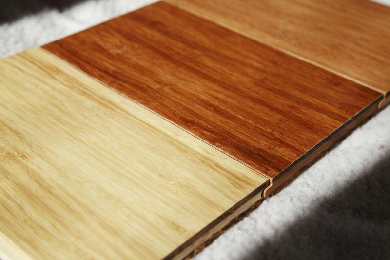 Bamboo Flooring Samples