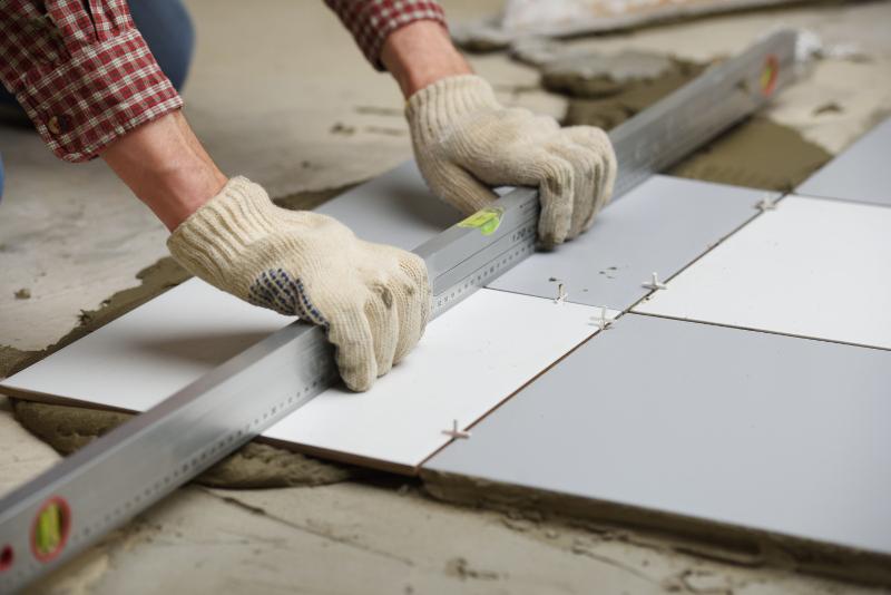laying-tile