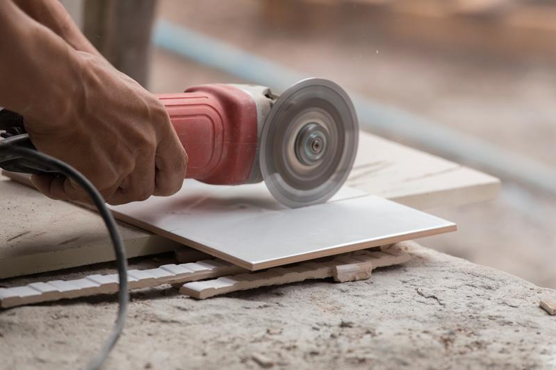 Cut ceramic real wood box beams
