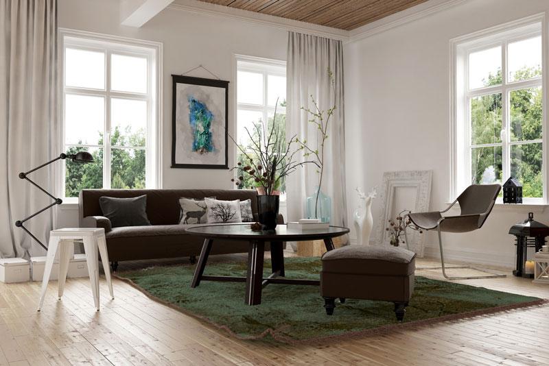 Arranged Furniture