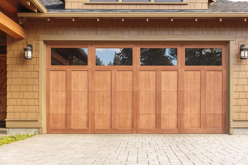 Garage Door Wood
