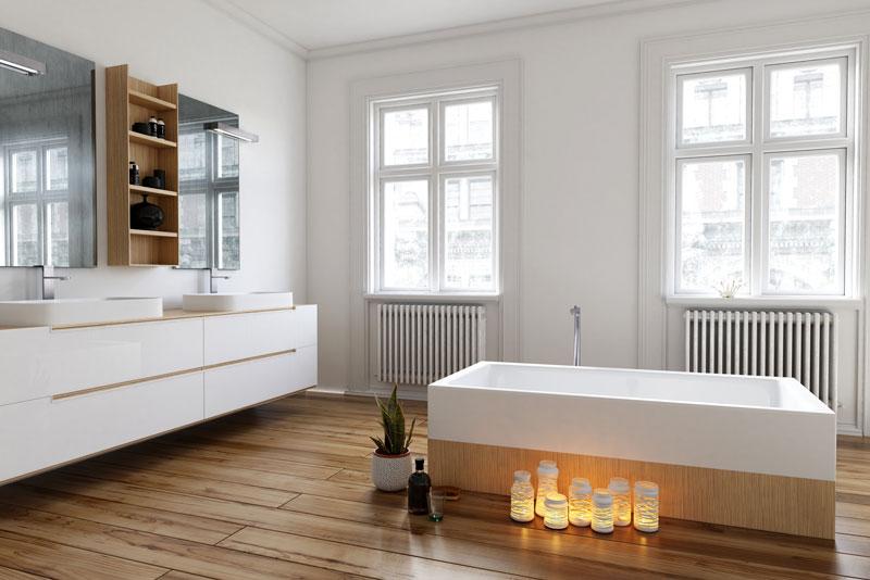 Laminate Bathroom