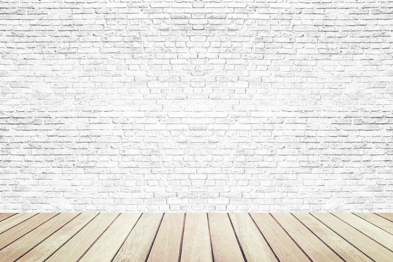 Brick Wall Wood Flooring